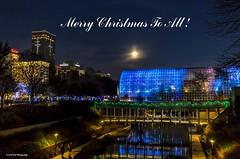 Merry Christmas (Kool Cats Photography over 9 Million Views) Tags: christmas lights downtown oklahomacity holiday landscape