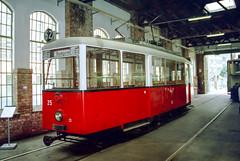 WIE_25_199809 (Tram Photos) Tags: fuchs museumswagen a wien wiener linien strasenbahn tram tramway