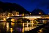 Pont de la Citadelle - Grenoble (chrisamann_photos) Tags: d7100 grenoble nikon longexposure night nightshot lights