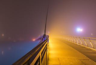 Mist.Bridge.MediaCity.Salford.Manchester.