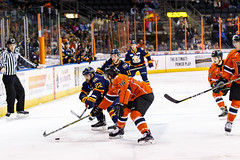 "Kansas City Mavericks vs. Colorado Eagles, December 16, 2017, Silverstein Eye Centers Arena, Independence, Missouri.  Photo: © John Howe / Howe Creative Photography, all rights reserved 2017. • <a style=""font-size:0.8em;"" href=""http://www.flickr.com/photos/134016632@N02/38428182704/"" target=""_blank"">View on Flickr</a>"