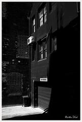 CRW_1466 (mattwardpix) Tags: lane hunterstreet newcastle nsw australia blackandwhite noir luminositymasks gimp matthewward