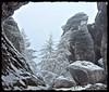 Thyssaer Wände - Im Reich von Väterchen Frost (Christoph Bieberstein) Tags: winter zima schnee snow dezember december tschechien tschechische republik böhmen bohemia czech republic česko ceská republika české švýcarsko thyssaer wände tiské stěny böhmische schweiz raureif
