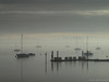 Misty morning (ExeDave) Tags: pc207281 exe estuary starcross teignbridge exmouth east devon sw england gb uk tidal river coastal landscape waterscape mist misty moored boats yachts pontoon jetty december 2017