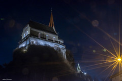On top ... (acbrennecke) Tags: achimbrennecke rankweil austria österreich church kirche basilika nikon5500 nikon top ray night lowlight
