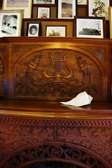 Eustis Estate, Milton MA (Boston Runner) Tags: eustis estate mansion 1878 milton massachusetts 2017 historic preserved restored library fireplace mantle