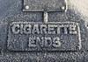 Profundity in Mundanity (Colourblind Chris) Tags: frost cigarette arty