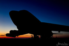 60-0051 / BD B-52H 93rd BS (AFRES) / 307th OG - Barksdale AFB, LA (Ashley Wallace Photography) Tags: flickr nikon photography aviation aircraft orange blue sky 2016 october sunrise globalstrikecommand unitedstatesairforce usaf unitedstatesofamerica usa louisiana barksdaleafb renegades 93rdbombsquadron buff b52h b52hstratofortress