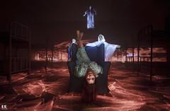Isa Exorcista (albertoleiras) Tags: exorcismo exorcista fantasma esqueletos canon1740f4l canon6d lightpainting monasteriosantacatalina pixelstick
