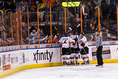 "Kansas City Mavericks vs. Kalamazoo Wings, January 5, 2018, Silverstein Eye Centers Arena, Independence, Missouri.  Photo: © John Howe / Howe Creative Photography, all rights reserved 2018. • <a style=""font-size:0.8em;"" href=""http://www.flickr.com/photos/134016632@N02/38681939775/"" target=""_blank"">View on Flickr</a>"