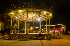 Kiosque du jardin du Mail (Guibs photos) Tags: eos7d canonefs1022mmf3545usm manfrotto mt055xpro3 angers anjou maineetloire paysdelaloire france nuit night nocturne poselongue longexposure illumination lighting lights funtain fontaine mail jardin