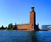 Stadshuset (Dan Haug) Tags: stadshuset stockholm cityhall threecrowns waterfront composite xf1655 xf1655mmf28rlmwr xt2 fujifilm vacation august 2017 getty gettyimages