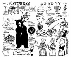 My weekend (Don Moyer) Tags: weekend ink drawing molesekine notebook moyer donmoyer brushpen bear