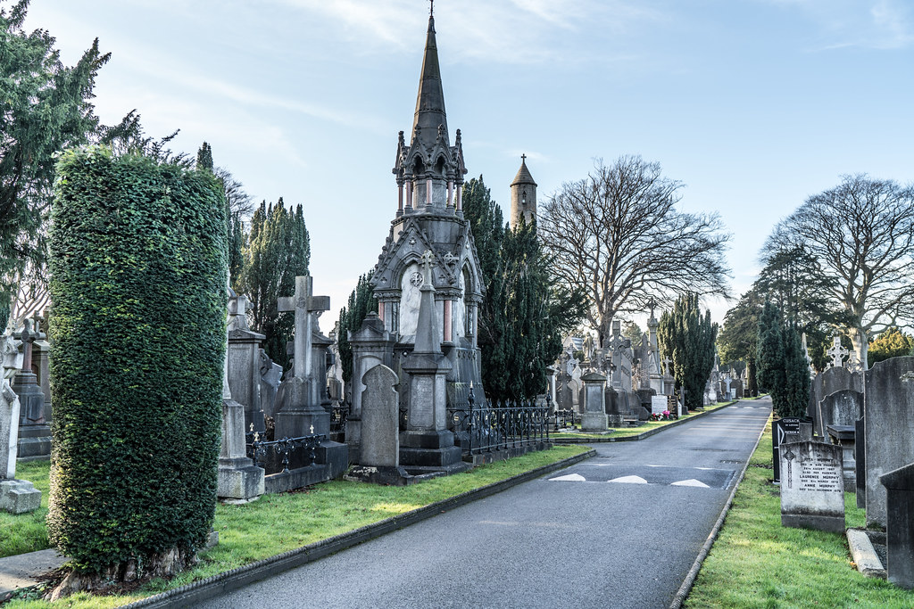 VISIT TO GLASNEVIN CEMETERY IN DUBLIN [FIRST SESSION OF 2018]-134903