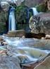 Heyburn Wyke (Exposure Blended) (FujiRob) Tags: heyburnwyke exposureblending northyorkshire fujifilmxe2 waterfall stream cold rocks trees nationaltrust scarborough familywalk