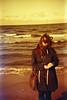 Whip My Hair (Magnus Bergström) Tags: lomography redscale xr lomographyredscalexr film 135 35mm luminox luminox356sl analog lomo mellbystrand beach sand wind people laholm halland horizon sea ocean woman girl hair sunglasses jacket purse handbag waves idanil00 portrait