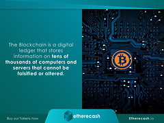 Blockchain Posed to Disrupt More than Just the Banking Industry | ICO | Cryptocurrency_3 (etherecash1) Tags: blockchain pos pointofsale cryptocurrency bitcoin fiat ico credit lending loans etherecash financialindustry banking banks