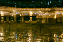 Test de whip pan (Rollkidd) Tags: montdemarsan noël christmas roue landes couleurs ville city lights colours reflet night nuit rain pluie whippan