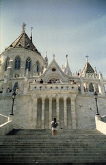Matthias Church. Budapest. (floripondiaa) Tags: budapest hungary florishootsfilm fujica stx1 film 35mm