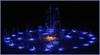 Jet bleu (Pi-F) Tags: barcelone fontaine eau jet bleu multicolor jaune jeux rond cercle lumière éclairage nuit nocturne décoration esqpagne