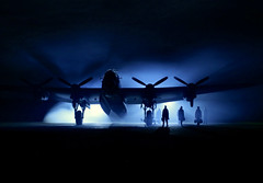 'Night Ops' (andrew_@oxford) Tags: avro lancaster raf east kirkby bomber command royal air force reenactors reenactment 1940s wartime timeline events