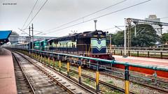 """Surprise surprise"", says KJM ! (siddarthashok@rocketmail.com) Tags: alco kjm katni jbp cbe spl lhf shf indianrailways railfanning railroad trainstation"