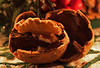 Walnut. (christina.marsh25) Tags: macromondays litbycandlelight walnut christmas adventwreath candle candlelight