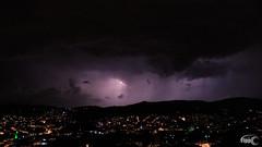 A Stroke of Luck to Catch a Strike of Light (Fippo Gomes) Tags: canon lightning rain raio sl1 chuva astrokeofluck flickrfriday
