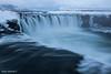 Press the pause button (Daniel Moreira) Tags: goðafoss waterfall godafoss snow water skjálfandafljót river iceland icelandic ísland islândia islande islanda