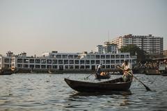 Sadarghat (Hiro_A) Tags: sadarghat olddhaka dhaka bangladesh asia river boat boatman ship sony rx100m3