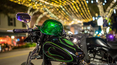 20171214 5DIII Lost Weekend WPB 48 (James Scott S) Tags: westpalmbeach florida unitedstates us clematis strt street christmas bokeh dof 35mm sigma canon 5diii moto motorcycle biker ride vintage night