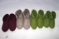img_3361m (villanne123) Tags: 2017 tossut huovutettu huovutetuttossut forsale felted finnwool socks slippers sukat feltedslippers villanne
