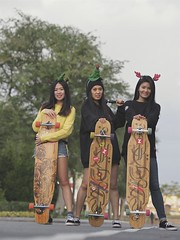 PC200064 (totogo1015) Tags: longboard play street taipei girl sport relaxed