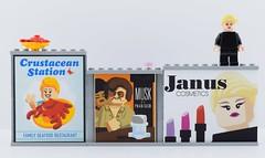 LEGO Ads from The LEGO Batman Movie😘 (Alex THELEGOFAN) Tags: lego legography panel ads adv advert advertisement advertising the batman movie moc creation