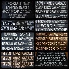 Garage Journeys for Barking, North Street & Seven Kings Garages. (Drew Diddles) Tags: ap bk ns lt