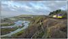 Skirting the Vale Coastline (Welsh Gold) Tags: 60039 6e44 aberthaw lindsey oil refinery tanks train fontygary barry valeofglamorgan southwales