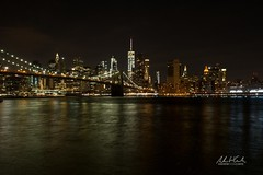 Night on the River (andrewwebbcurtis) Tags: newyork newyorkcity big apple bigapple nyc new york city manhattan brooklyn world trade center usa america american skyline travel wanderlust skyscraper architecture