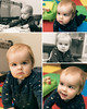 Will - 11 months old (Katherine Ridgley) Tags: toronto torontobaby baby babyboy babyfashion cutebaby family crawl crawling moving move indoor indoors house home play toy babytoy portrait collage