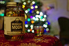 For When The Guests Are Gone And The Kids Are In Bed (Rich Renomeron) Tags: 117picturesin2017 olympusmzuiko25mmf18 olympusomdem10 bokeh christmastree moonshine shotglass