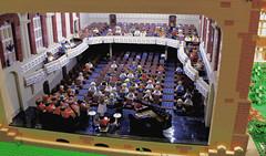 Macky Auditorium Interior, CU Boulder, Colorado (Imagine™) Tags: lego mackyauditorium cuboulder colorado legocampus hitthebricks heritagecenter oldmain afol moc imaginerigney commission modular