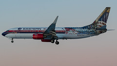 N277EA (coreybrickner) Tags: boeing havanair easternair msp swq2932 n277ea fll fllmsp 737 738 b738 b7378cx nikon 30l avgeek airlines aviation airport tamron nhl wild panthers