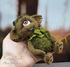 one-eyed monster art toy (CityPlush, Alina Biliakova) Tags: oneeyedmonster forestelf forestelfartisttoy cityplushalinabiliakova elftoy elf handmadeelf stuffedtoy artisttoy