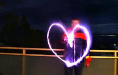 My Heart Goes Out (Elfworld) Tags: ego selfportrait portrait portraitphotography heart fireworks flare molde norway newyearseve 2018 wishes man hognebøpettersen elfie night nighttime exposure