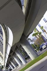 City Bridge (sammy2da) Tags: bridge city overpass underpass jacksonville concrete canon 50mm sl1