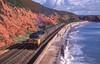 47327 At Dawlish. 29/09/1988 (briandean2) Tags: 47327 dawlish devon railways ukrailways ukfreighttrains