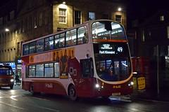 SN59BGK Edinburgh 31/12/17 (MCW1987) Tags: lothian buses edinburgh volvo wright gemini b9tl 2 341 sn59bgk