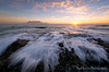 First and Last (Panorama Paul) Tags: paulbruinsphotography wwwpaulbruinscoza southafrica westerncape capetown tablemountain blaauwbergbeach yellowflowers sunset mountain beach waves nikond800 nikkorlenses nikfilters