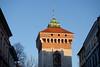 Floryan Gate Tower (Håkan Dahlström) Tags: 2018 architecture krakow photography poland polen tower kraków małopolskie xt1 f56 1210sek xc50230mmf4567ois cropped 11803012018092146 staremiasto pl