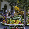 City of Alhambra Float (Thad Zajdowicz) Tags: zajdowicz pasadena california roseparade 2018 usa outdoor outside canon eos 5dmarkiii 5d3 digital dslr color colour festive availablelight lightroom ef70200mmf4lisusm float alhambra city urban insects flowers street people yellow red tree square 1x1
