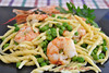Trofie con gamberoni e piselli (Le delizie di Patrizia) Tags: trofie con gamberoni e piselli le delizie di patrizia ricette primi piatti pasta
